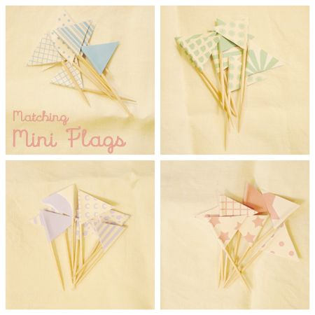 paper flag printable: Printables Cupcakes, Cupcakes Flags, Cupcakes Maybe