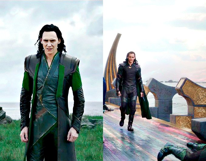 """""""If you're gonna be bad, you might as well be bad with style…"""" — Tom Hiddleston (http://collider.com/tom-hiddleston-thor-ragnarok-interview/#loki )"""