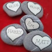 pebble wedding place names - Google Search
