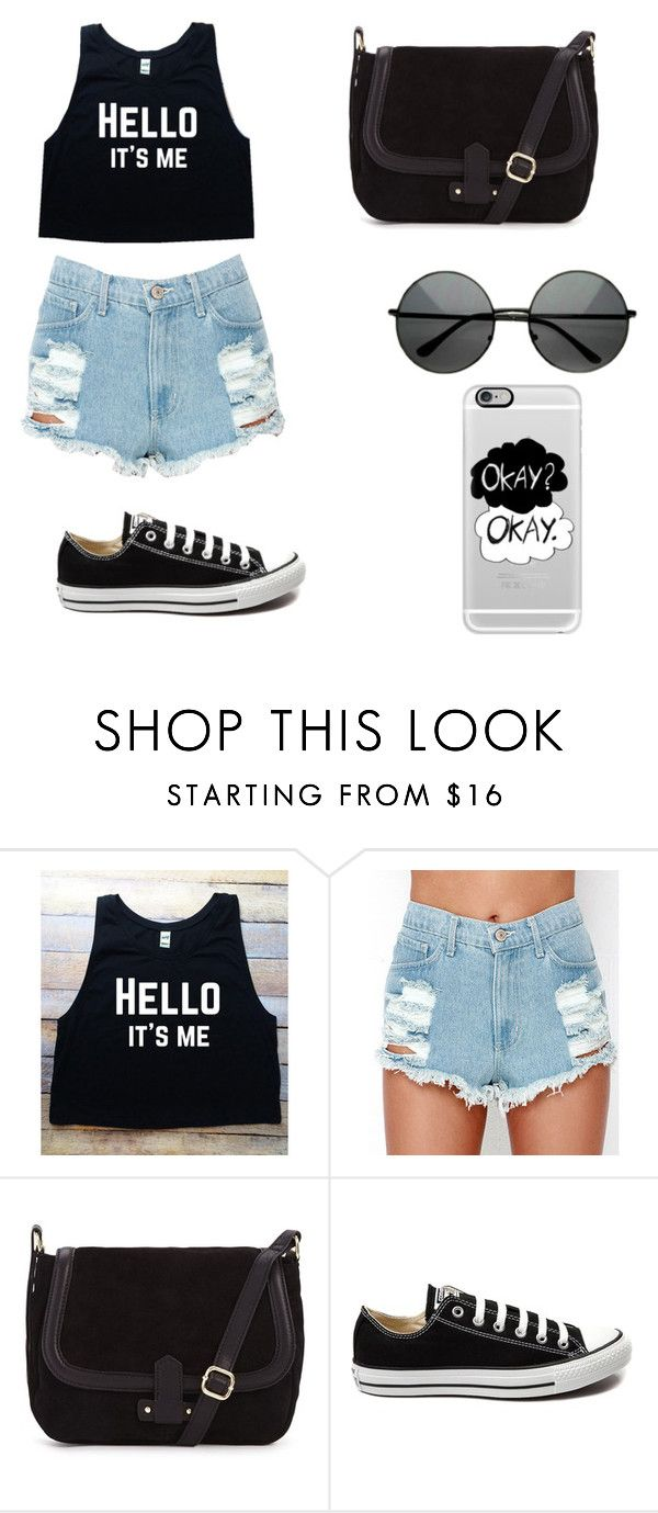 """""""Untitled #101"""" by karenrodriguez-iv on Polyvore featuring Converse, Casetify, women's clothing, women, female, woman, misses and juniors"""
