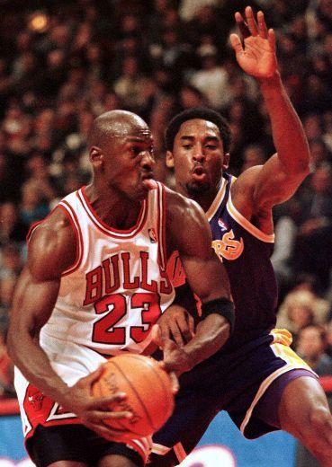 Michael Jordan versus Kobe Bryant