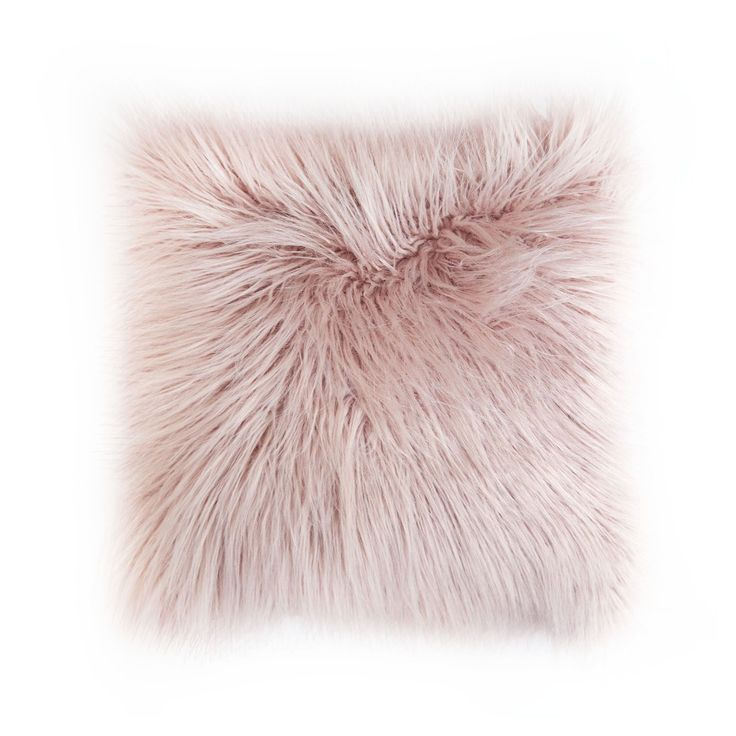 Wildly Cozy. Bring dimension and texture to your space with our mongolian faux fur pillows. In a blend of silvery blue and mint tones, this fluffy pillow creates a bright yet cozy ambiance. Mongolian