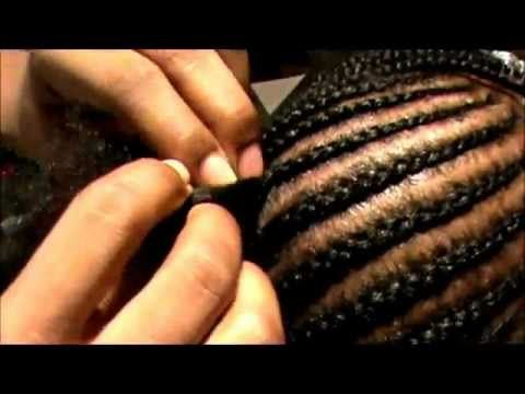 How to: Braid Cornrows (Tutorial) My struggle is real I need to learn how to braid ASAP!!