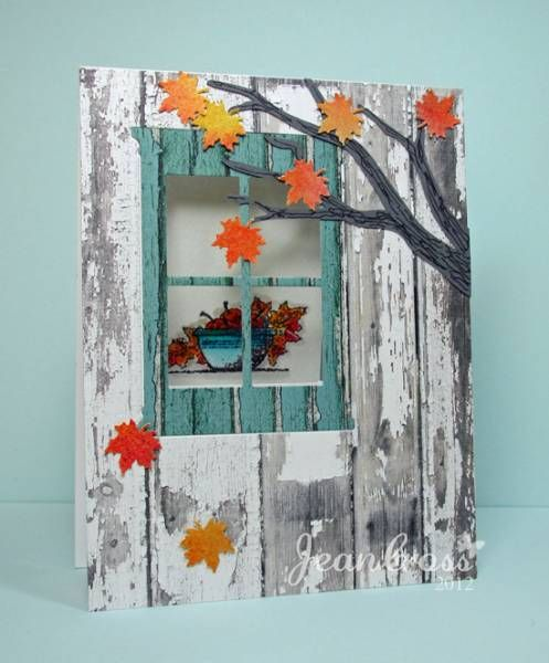 Fall Gratitude by naturecoastcrafter - Cards and Paper Crafts at Splitcoaststampers