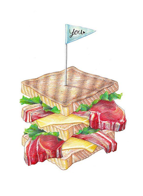 recipe books food illustrations watercolor illustration food art food sketch sandwich recipes food drawing clip art recipe cards