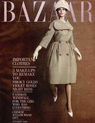 one of the first BAZAR magazines