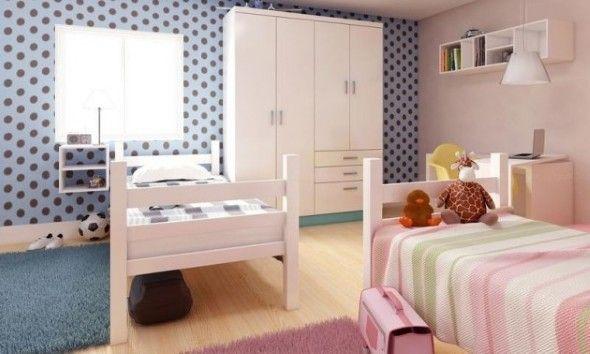 decoraçao quartos partilhados irmaos