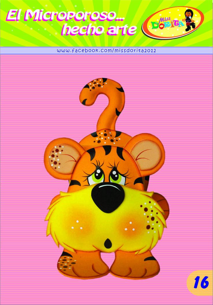 Portalapices Tigre
