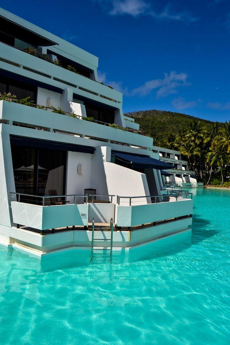 Swim-up rooms - Hayman Island, Great Barrier Reef, Australia