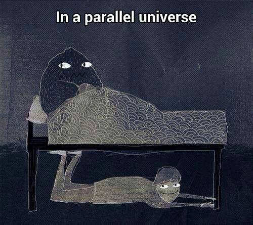 Universo paralelo monstruo haha lol jaja funny