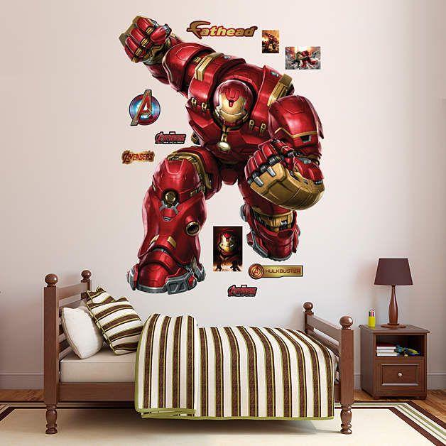 Fathead Avengers Age Of Ultron Iron Man Hulkbuster   Wall Sticker Outlet Part 8