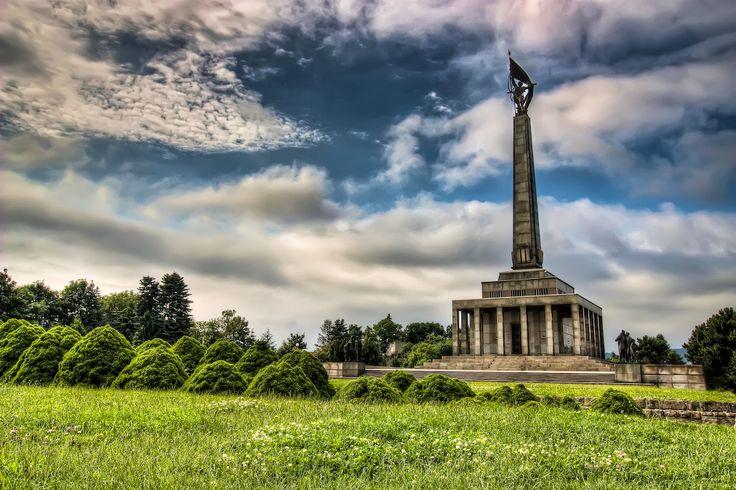 Slavin Memorial in Bratislava, Slovakia http://timeforslovakia.com/best-of-bratislava