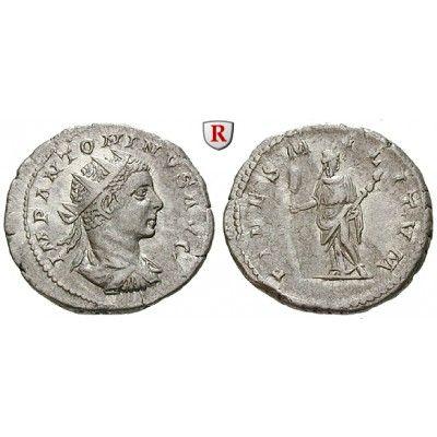 Römische Kaiserzeit, Elagabal, Antoninian 219-220, vz: Elagabal 218-222. Antoninian 219-220 Rom. Gepanzerte Büste r. mit… #coins
