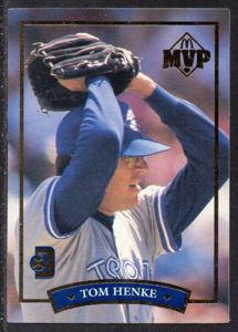 #5 Tom Henke (1992) - Donruss Baseball card. New on http://colnect.com/sports_cards