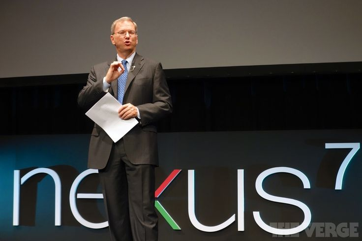 Eric Schmidt makes 2014 predictions, says mobile haswon