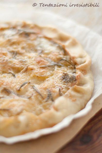 torta salata con patate gorgonzola e rosmarino        #recipe #juliesoissons