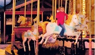 Merry Go Round in Morzine centre