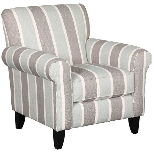 Brianne Striped Accent Chair Stripe Accent Chair Accent Chairs