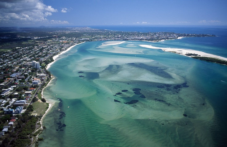 Sunshine Coast - Aerial. Photo: Tourism Queensland. #SunshineCoast #Queensland #Beach #Australia #Travel