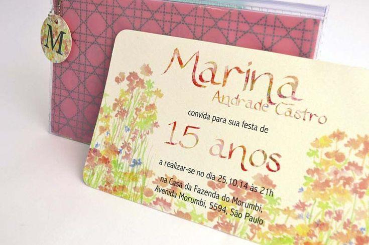 Convites de Aniversario, Convite de 15 anos, Modelo de Convite de Debutante e lembrancinhas personalizadas para a sua festa de aniversario!