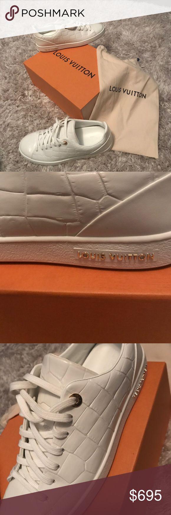 Louis Vuitton cocaine white sneakers. Authentic made in Italy sneakers Louis Vuitton Shoes Sneakers