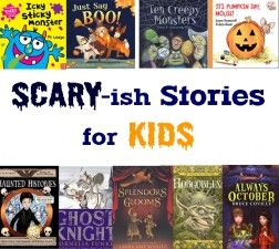 Scary-ish Chapter #Books + New Halloween Picture Books for #kids