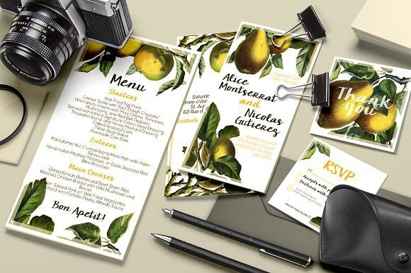Botanical Wedding Suite Vol 1.. Wedding Fonts