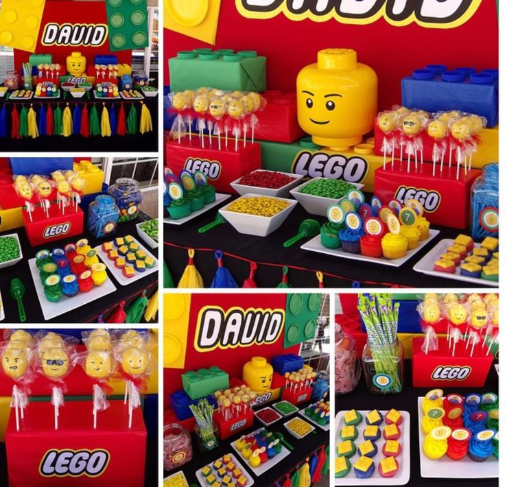 Lego Candy Buffet By Bizzie Bee Creations by Iris | Candy ...