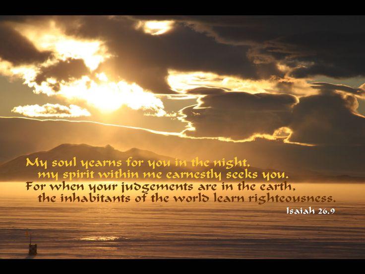 saturday morning bible verse Google Search Isaiah 26