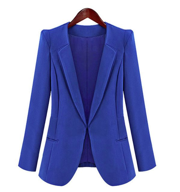 AUD14+shipping ALL Seasons-Must-Have: BLUE BLAZER / Size: S, M, L / Material: Polyester