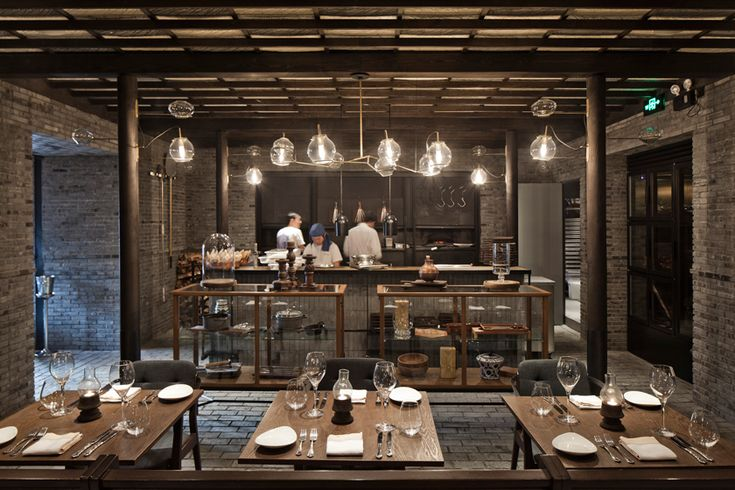 Restaurante Capo en Shanghai