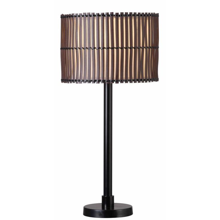 With A Look Of Hand Lashed Slats In Its Distinctive Shade, The Boa Table  Lamp. Outdoor ...