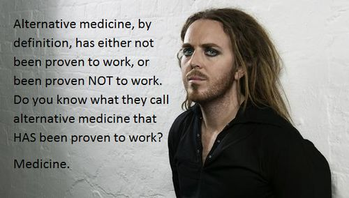 Alternative medicine by definition has either been