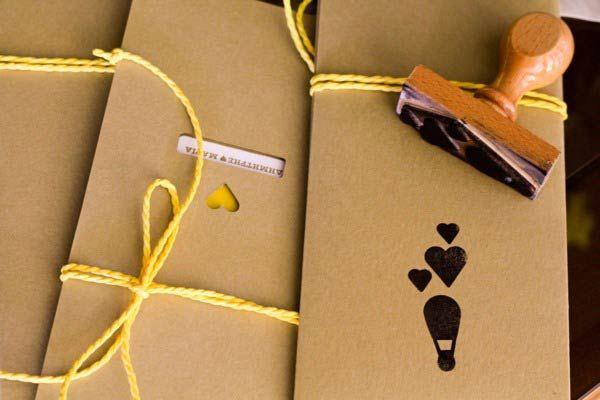 Desain Stempel Karet - Konsep Pernikahan