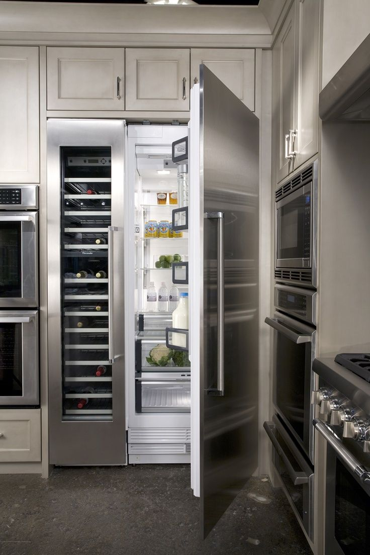 Unique Built In Kitchen Appliances