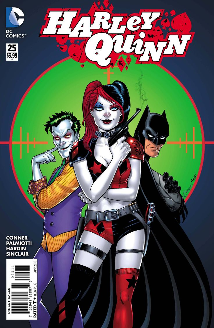 At long last, it's Harley Quinn and The Joker, face-to-face! The life of Harley's new love, Mason Macabre, is in the Joker's hands...but can he or Harley survive another round of The Joker's twisted m