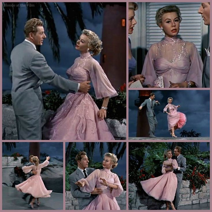 White Christmas: Vera-Ellen in an Edith Head dress, dancing with Danny Kaye: