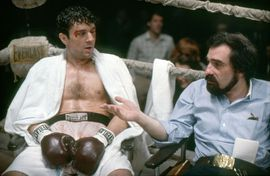 Netflix signs Scorsese De Niro and Pacino in 'The Irishman'     - CNET  Enlarge Image  Robert de Niro with director Martin Scorsese on the set of Raging Bull. de Niro will be de-aged by CGI in Scorseses new film The Irishman.                                                      Corbis/Getty Images                                                  As far back as I can remember I always wanted to be on Netflix. Thats what Martin Scorsese is probably thinking as the legendary directors next…