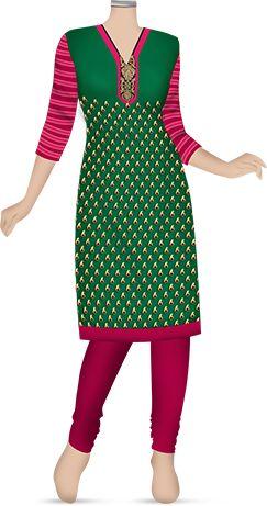 Salwar kurta stitching service in Kolkata. Charges 449/onwards.