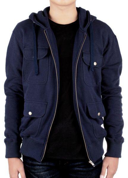 Otiv Navy Pocket Jacket