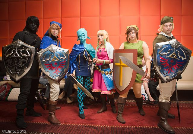 Legend of Zelda group cosplay | ACEN 2012