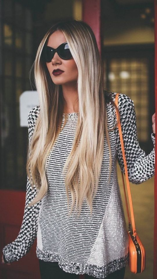 This is the most perfect hair I've ever seen