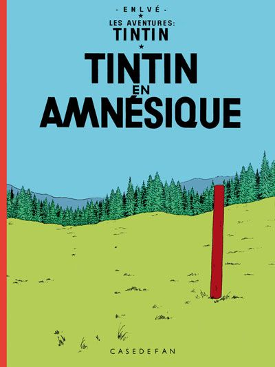 Les Aventures de Tintin - Album Imaginaire - Tintin en Amnésique