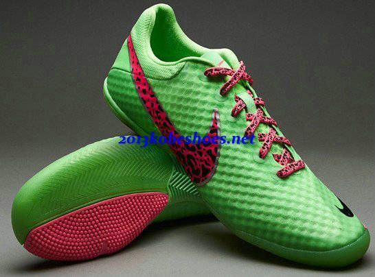 Mercurial Soccer Flats Shoes White And Pink