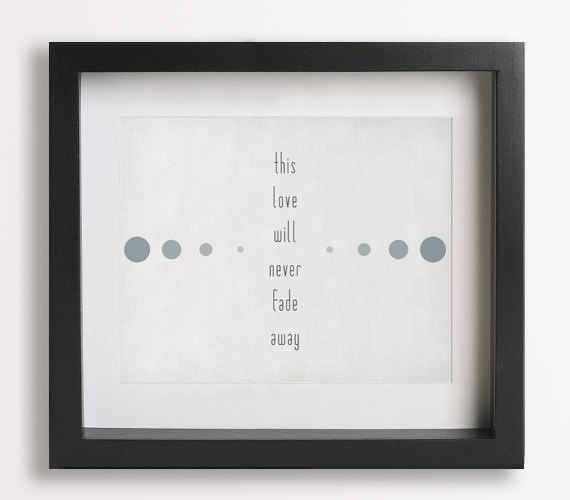 You Are The Best Thing / Ray LaMontagne - Music Lyric Art Print - home decor, wall decor, wall art, unique, gift idea, wedding, anniversary