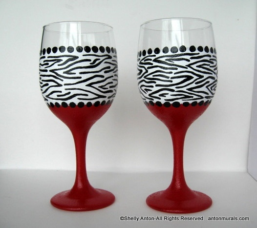 20 best wine glasses images on pinterest cocktail for Do it yourself wine glasses