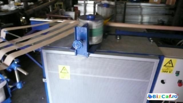 Utilaje si echipamente pt fabricare procesare portionare hartie si carton produs finit fabricat