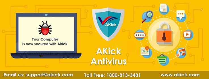 #AKick #Antivirus provides complete safeguard together with important safety measures as well as setting features as well as #protect you towards threat, red wigglers, #Trojan viruses, ad/spy ware, dealer, spiders as well as unsafe drive-by downloads.