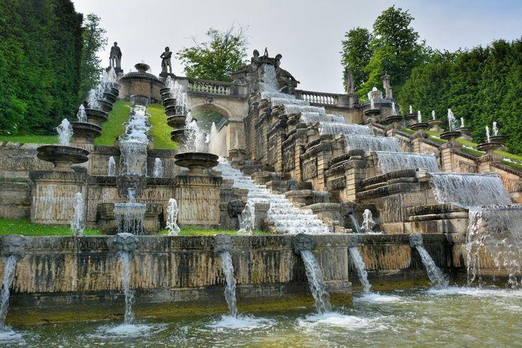parc de saint cloud, paris - the grand cascades