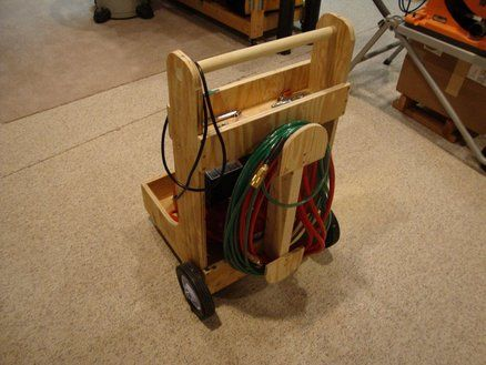 Compressor Cart How To Work It Arts And Crafts In 2019